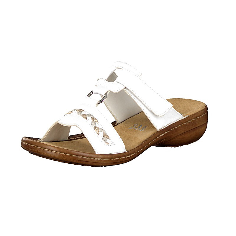 Rieker women mule white