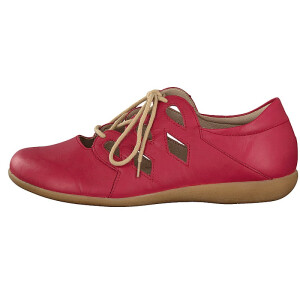 Remonte by Rieker women lace-up shoe red