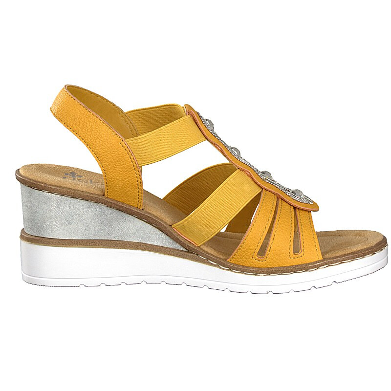 Rieker women sandal yellow