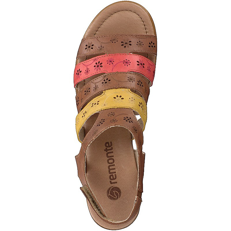 Remonte by Rieker women sandal brown