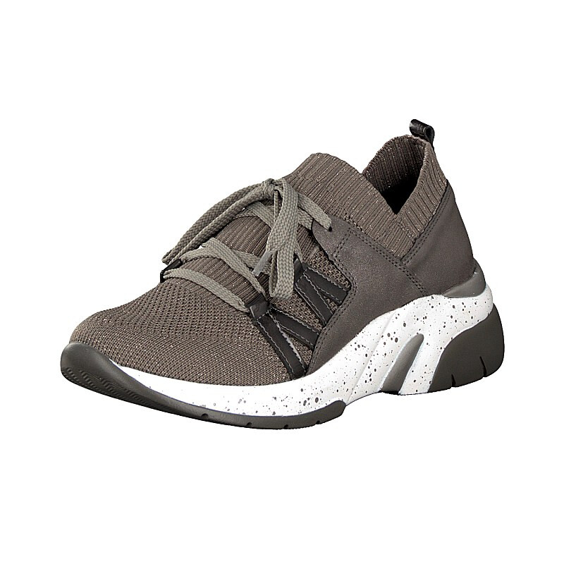 Remonte women sneaker taupe