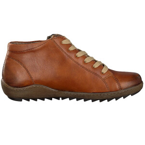 Remonte by Rieker women lace-up boot brown