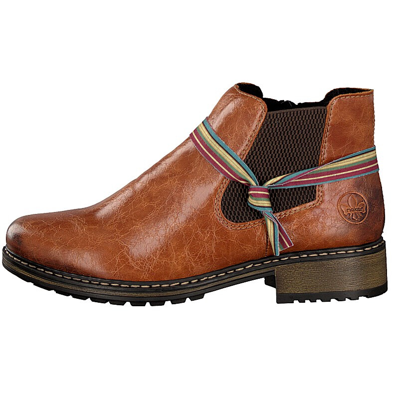 Rieker women boot brown