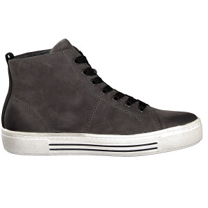 Remonte women lace-up boot grey